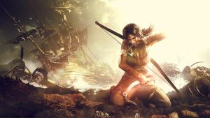 Tomb raider wallpaper edit by OriginalBoss