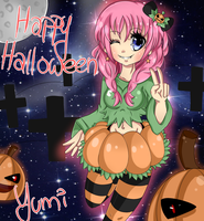 ::Yumi Halloween:: by AshleyShiotome