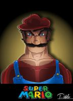 SUPER SUPER MARIO by PAabloO