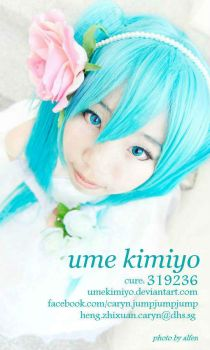 coscard design #1! :D by UmeKimiyo