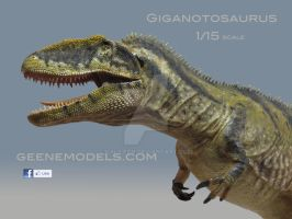 GIGANOTOSAURUS 1/15 scale by GalileoN