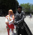 Asuna and Kirito by R-Legend