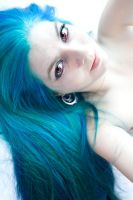 Blue Haired Beyotch by lizzys-photos