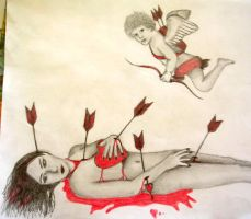 Rogue Cupid by onfire4Him
