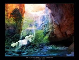 Zion Narrows by faded-impression