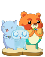 catbug impossibear and jelly kid design contest en by IshmanAllenLitchmore