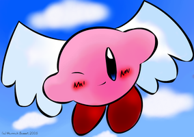 Kirby with Wings by kaab