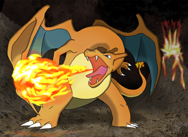 Favourite Flying-type Pokemon: Charizard by Kumata