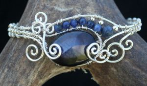 Swirly Freeform Cuff 1 by goddessccoa