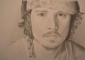 Johnny Depp by AannaBanana