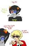 Homestuck - Sollux x Dave captor of my heart by Cloud-Kitsune