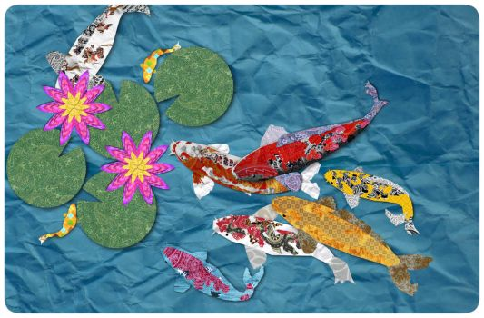 Cut-Out Koi Pond by GizmoduckJP