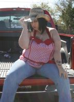 bbw cowgirl by SwtCreations