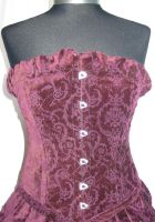 Purple Corset by LotD