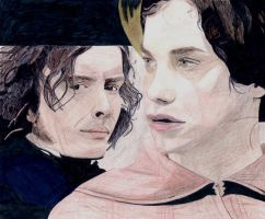 Edward Rochester and Jane Eyre by Chocolat93