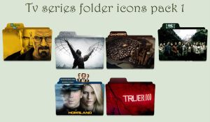 Tv series folder icons pack 1 by Cadavericale