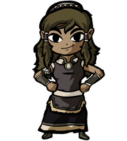 Korra Party Outfit by cathanupto