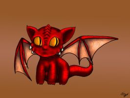 Baby Dragon by artimis1993
