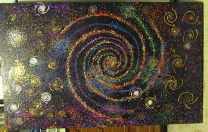 tropical galaxy by spiralcosmosart