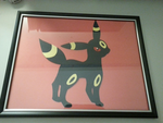 Umbreon Paper Craft by xxTeh-ninja