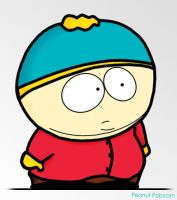 Cartman colored by Peanut-Popcorn