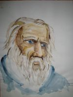 old man portrait by Namingway-Regret