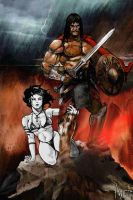 Conan and Death by antmanx68