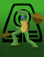 TMNT Avatar Series-Leo: Earth by FlashyFashionFraud