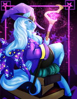 Bronycon 2015 poster: Trixie by avante92