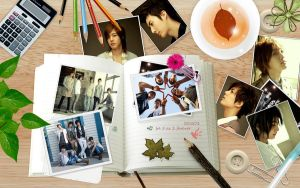 SS501 on my table by zareos