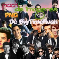 Pack PNG Big Time Rush by MariloliBTR