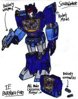 Transformers: Burning Fury - Soundwave by KrytenMarkGen-0