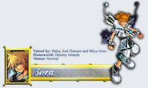 Sora's Profile Header by BlindTaleTeller