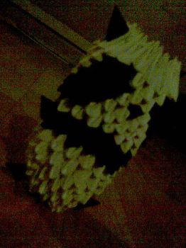 3D Origami Panda by JacqueProductions