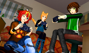 Play Game PSP by KingdomHeartsNickey