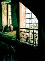 Stairs and Windows by blackblessing