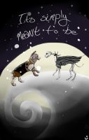 Jack and Sally Canine Rendition by PeaceIsTheKey