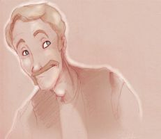 cheesy moustache by drowned-ophelia