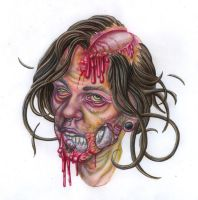Zombie Me by urielstempest