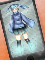 Kagerou Project: Ene by HolzyWolzy