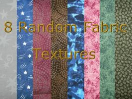 8 Random Fabric Textures by Rubyfire14-Stock