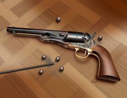 Six Shooter by gabedesignz