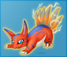 Super Thunder Strike :Request: by Arcticwaters
