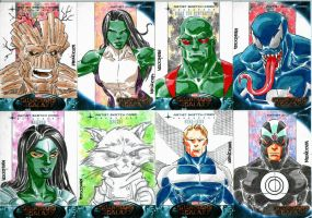 Guardians of the Galaxy set 5 by wardogs101