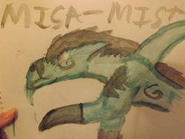 MisaMisa~ Water colour by Grace-Winters