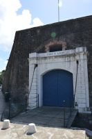 Old entrance of fortress Fort Saint Louis by A1Z2E3R