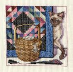 Cats, Baskets, and Quilts [Part 3] by pinkythepink