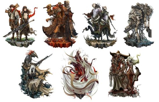Shattered RPG - Playable Characters by Eyardt