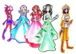 princesses by Warlord-of-Noodles