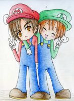 Super Italy Brothers by BillSquid